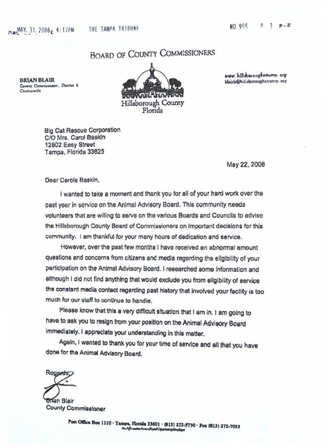 Resignation From Committee Letter – Letter Asking for Resignation